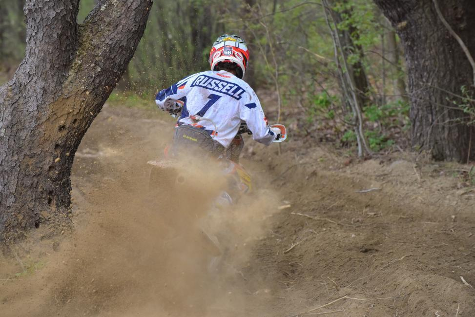 Kailub Russell continues his GNCC dominance
