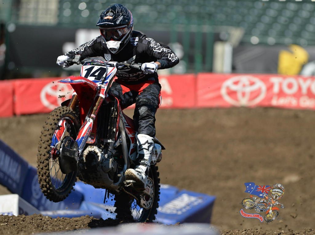 Cole Seely   -  American Honda