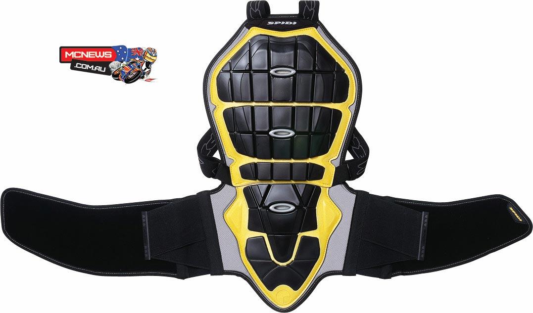4ae428268 Spidi Warrior Evo Back Protector | MCNews.com.au