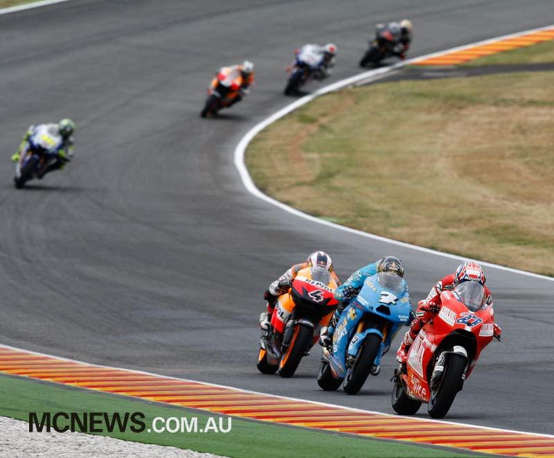 Mugello 2009 saw Casey Stoner win the Italian GP for Ducati, the only time Ducati have claimed victory at Mugello.