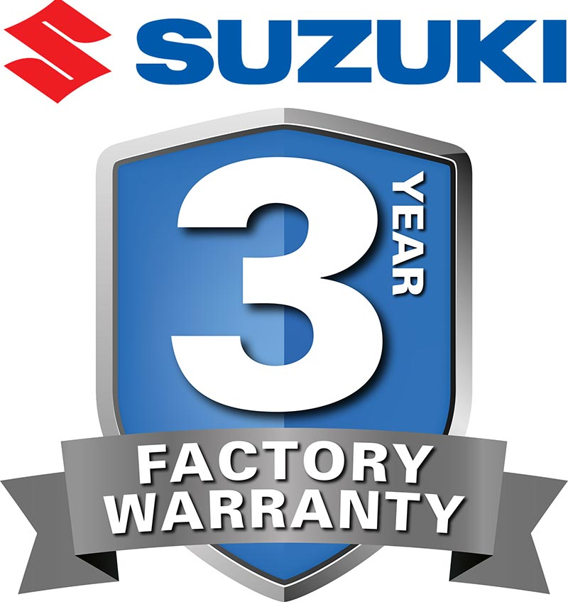 3 Year FACTORY Warranty On All Suzuki Farm ATV Products
