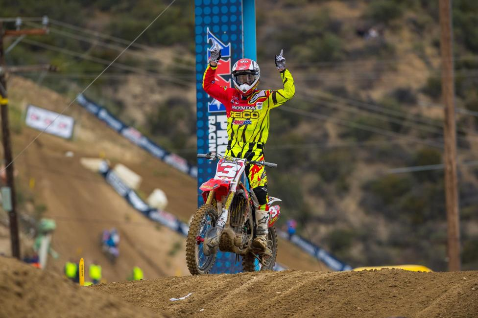 Eli Tomac is in a league of his own so far