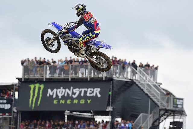 Valentin Guillod is showing that he has the speed to beat Herlings