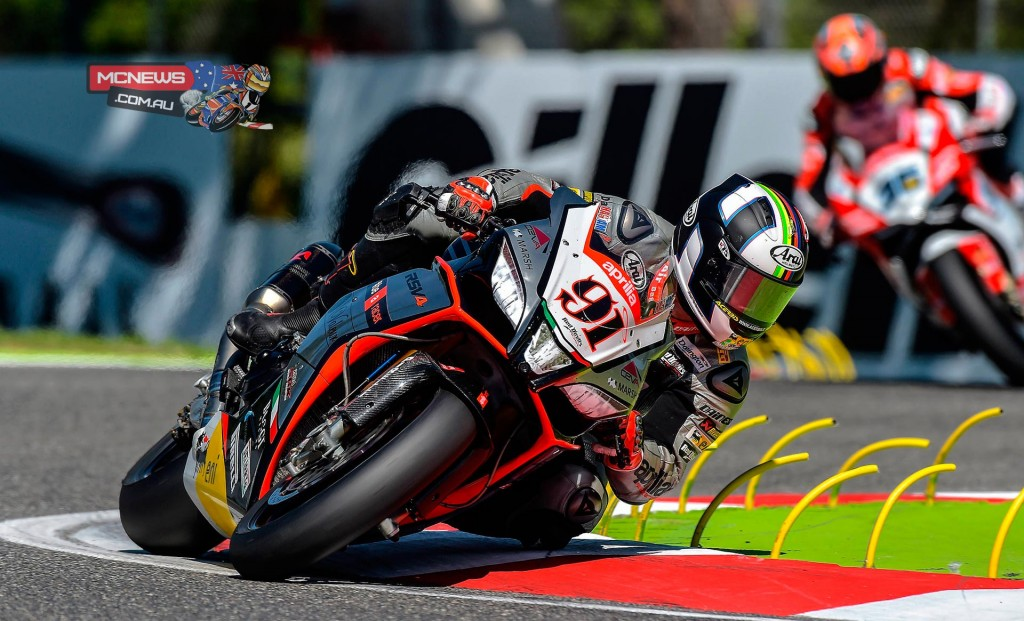 Leon Haslam had an up and down weekend at Imola WorldSBK