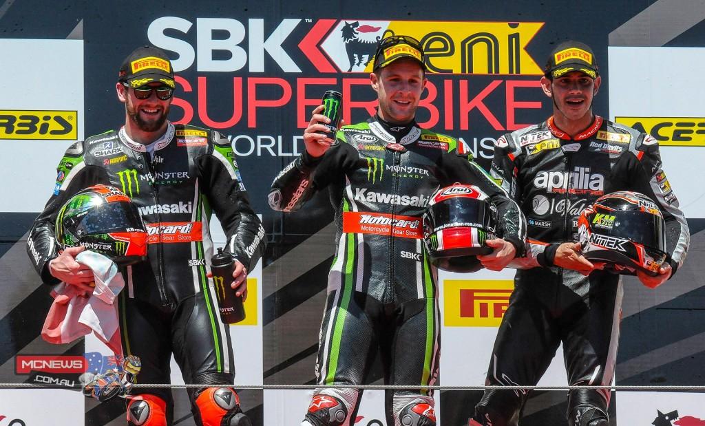 WorldSBK Imola Race Two Podium