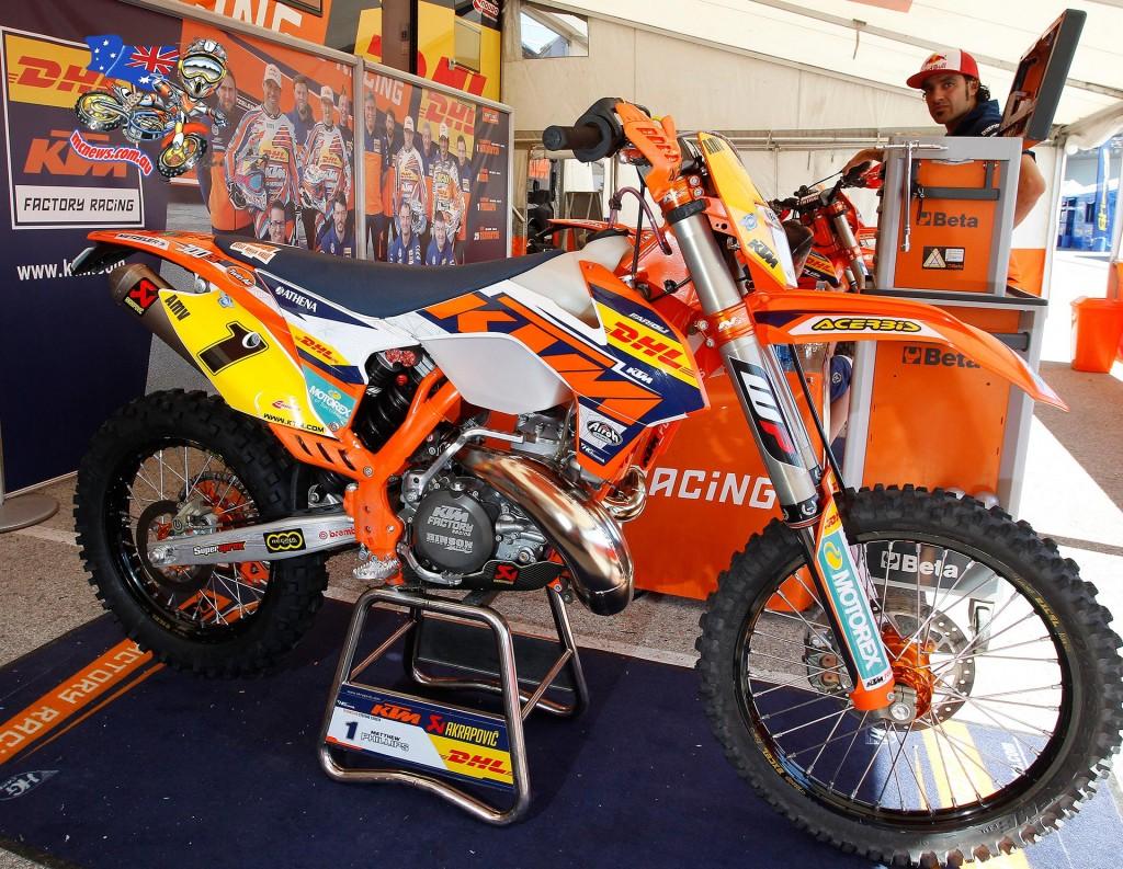 Matt Phillips' Factory KTM