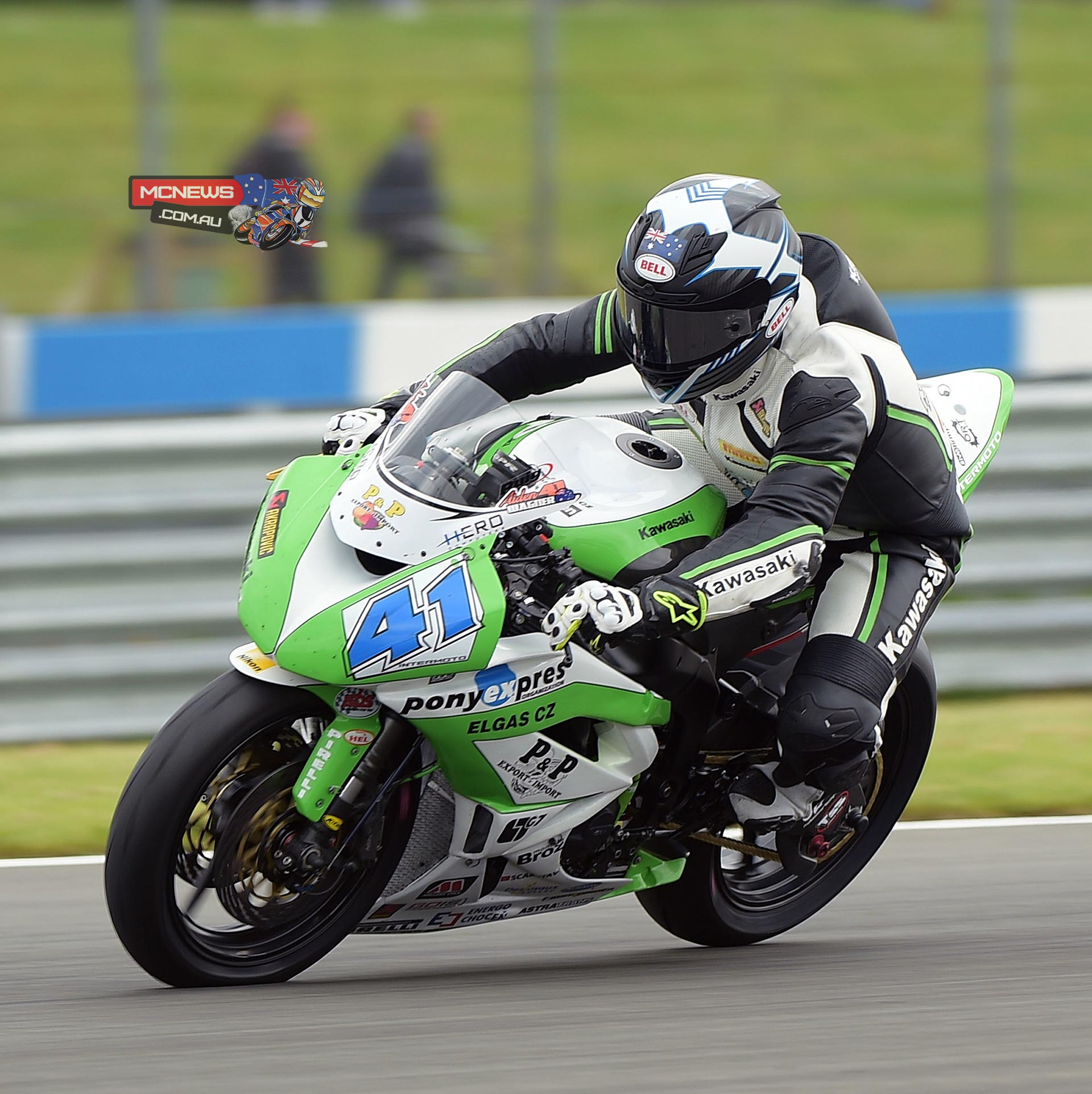 Aiden Wagenr World Superbike 2015 - Donington