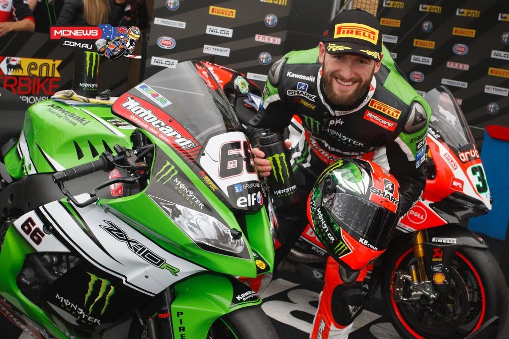 Tom Sykes Superpole World Superbike 2015 - Donington