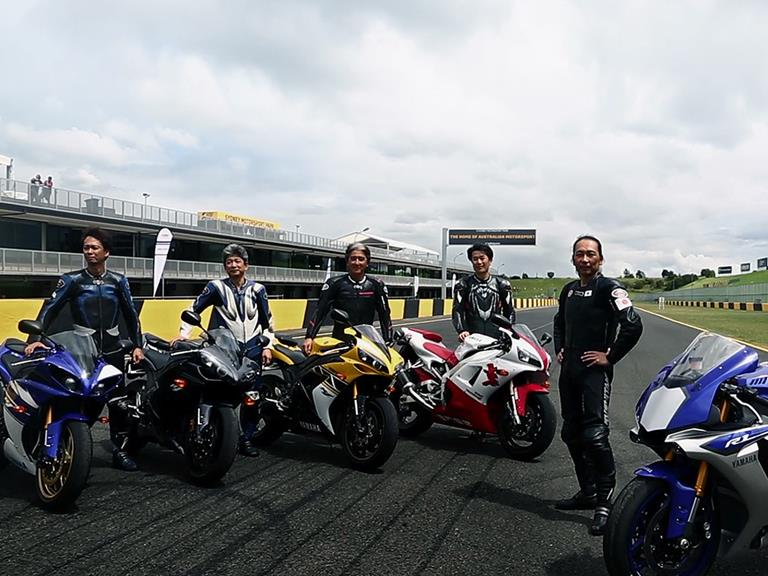 Yamaha YZF-R1 Project Leaders
