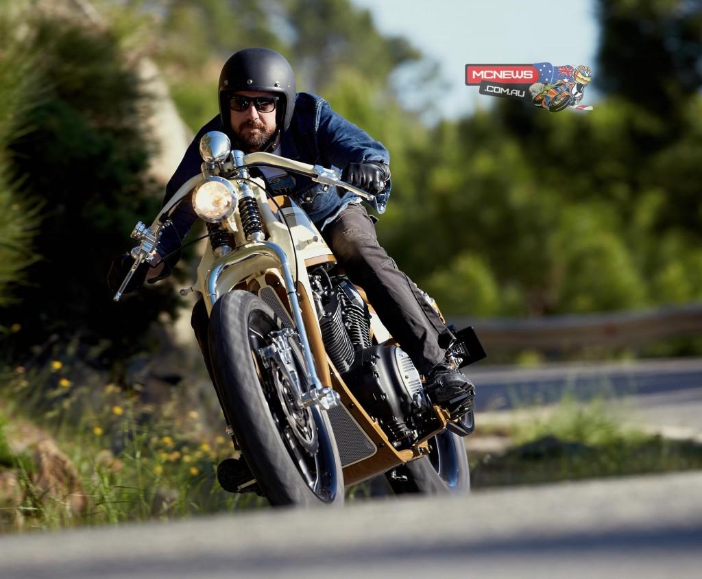 Matt Black Custom Designs Create Yard Built Yamaha XV950 Custom 'Playa del Ray'
