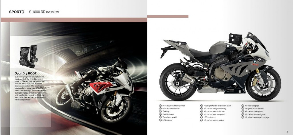 Motorcycle Accessories - BMW on-line Catalogue
