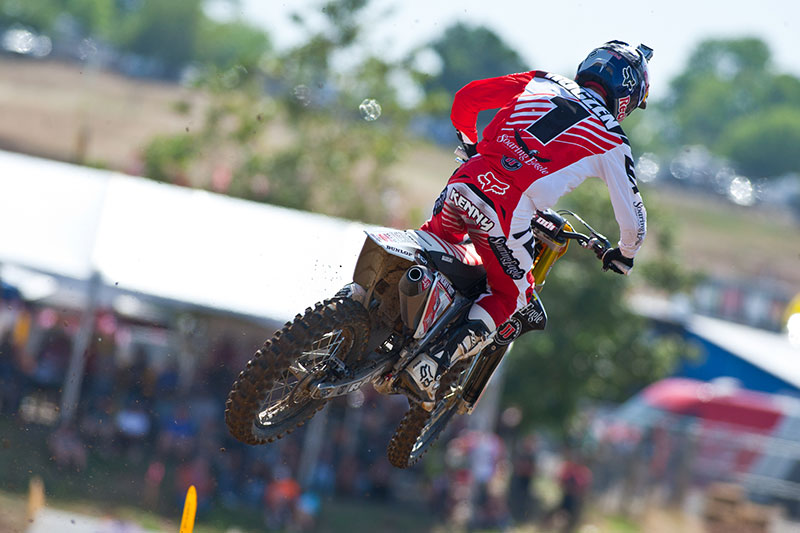 Roczen rode better in Moto 2 but still faces a sizable deficit after just one round. (Photo: Matt Rice)