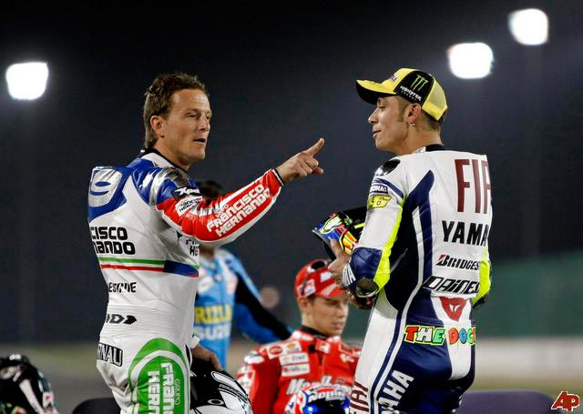 Rossi's systematic destruction of Sete Gibernau when they were team mates was a masterful and cruel piece of psychological warfare the likes of which we had never seen before.