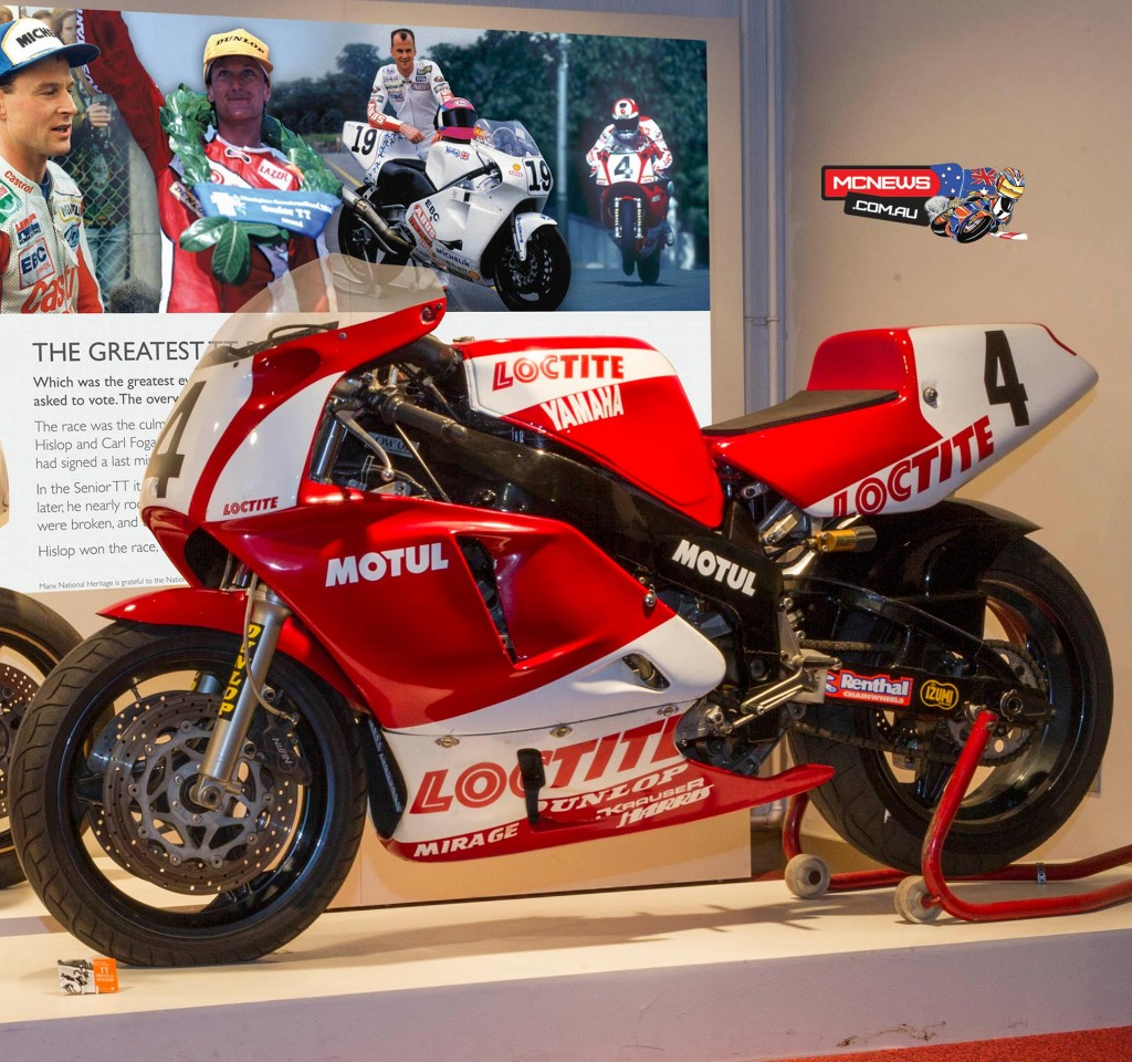 Carl Fogarty's Loctite Yamaha 0W01 raced in the 1992 Senior TT