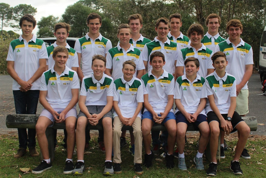 he 2015 MA Elite Performance Academy squad:  Top L-R: Nicholas Liminton, Jaimon Lidsey, Ben Kearns, Rhys Budd, Michael Driscoll, Troy Guenther, Mitchell Evans, Fraser Higlett, Wil Ruprecht, Brody Eves.  Bottom L-R: Riley Dukes, Broc Pearson, Lachlan Taylor, Tom Edwards, Billy Van Eerde, Max Whale.