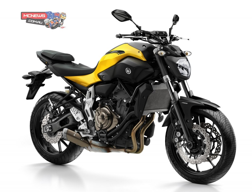 LAMS Yamaha MT-07LA now available in Extreme Yellow