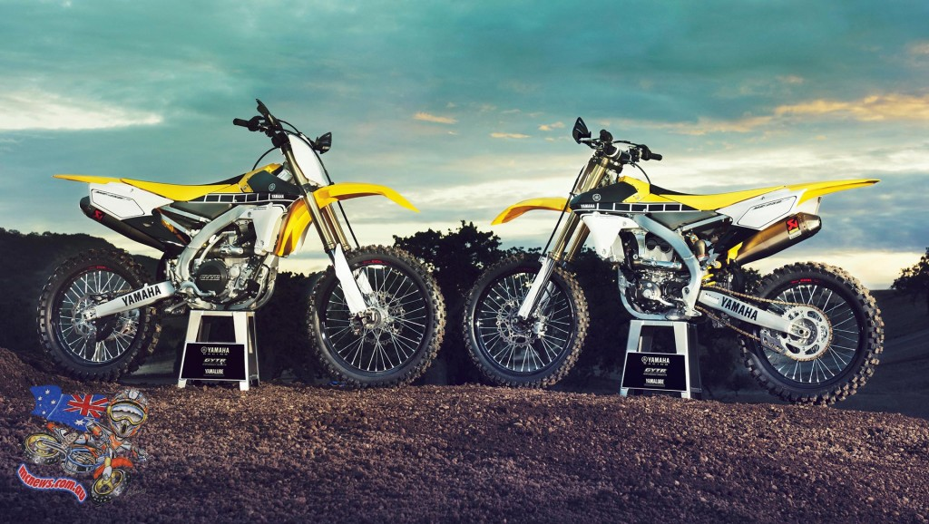 2016 Yamaha YZ250F and YZ450F Limited Edition 60th Anniversary version