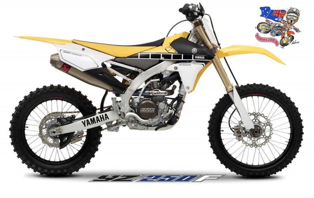 2016 Yamaha YZ250F Limited Edition 60th Anniversary version