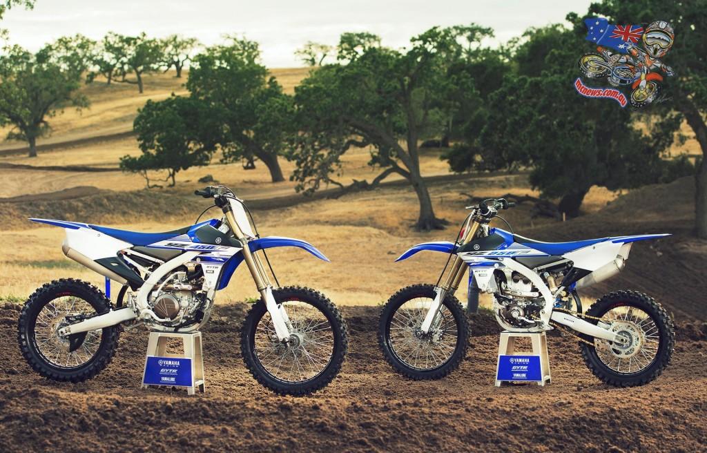 2016 Yamaha YZ450F and YZ250F