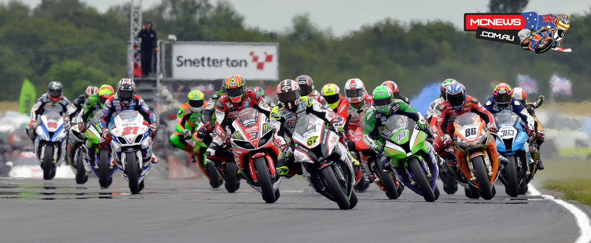 Shane Byrne did the double at Snetterton in 2014