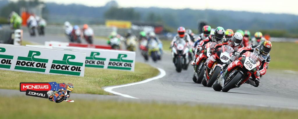 Josh Brookes and Jason O'Halloran were in the thick of the action at Snetterton BSB