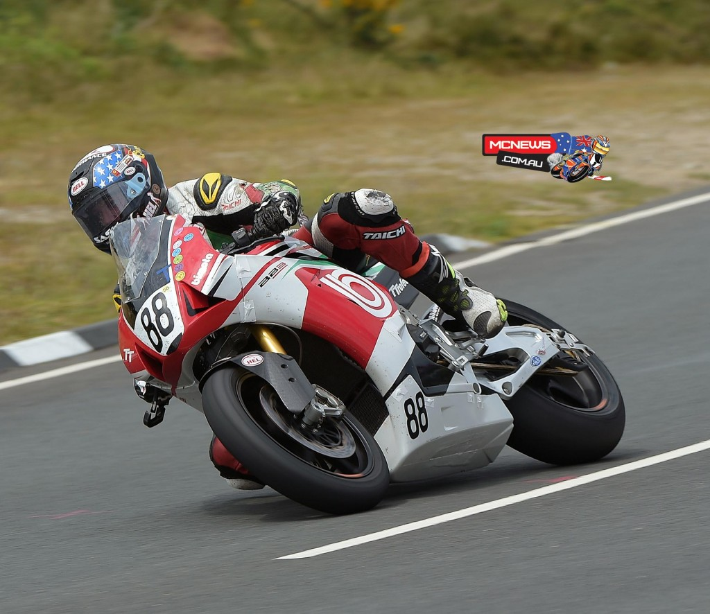 Brandon Cretu set a personal best lap time of 121.7mph in final qualifying and secured his best ever TT finish of 31st in the marquee Senior TT race