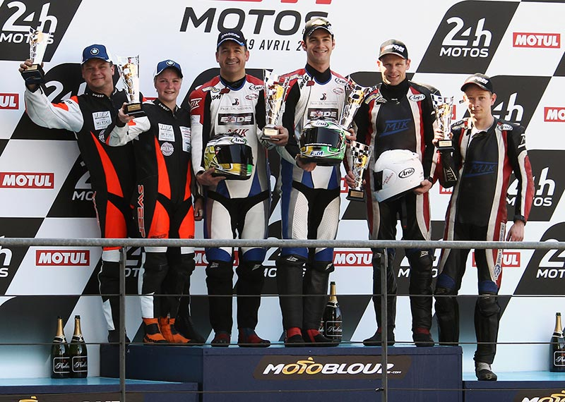 FIM World Sidecar 2015 Le Mans Podium