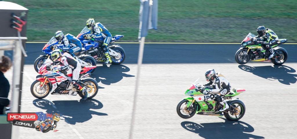 FX-ASC 2015 Round Three SMP - Saturday Superbike Race One Start