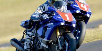 FX-ASC 2015 Round Three SMP - Saturday AFX-SBK Race Two - Wayne Maxwell and Glenn Allerton