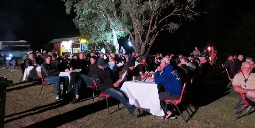 BMW GS Safari Enduro 2015 - Fine Dining outback style near Wilcannia