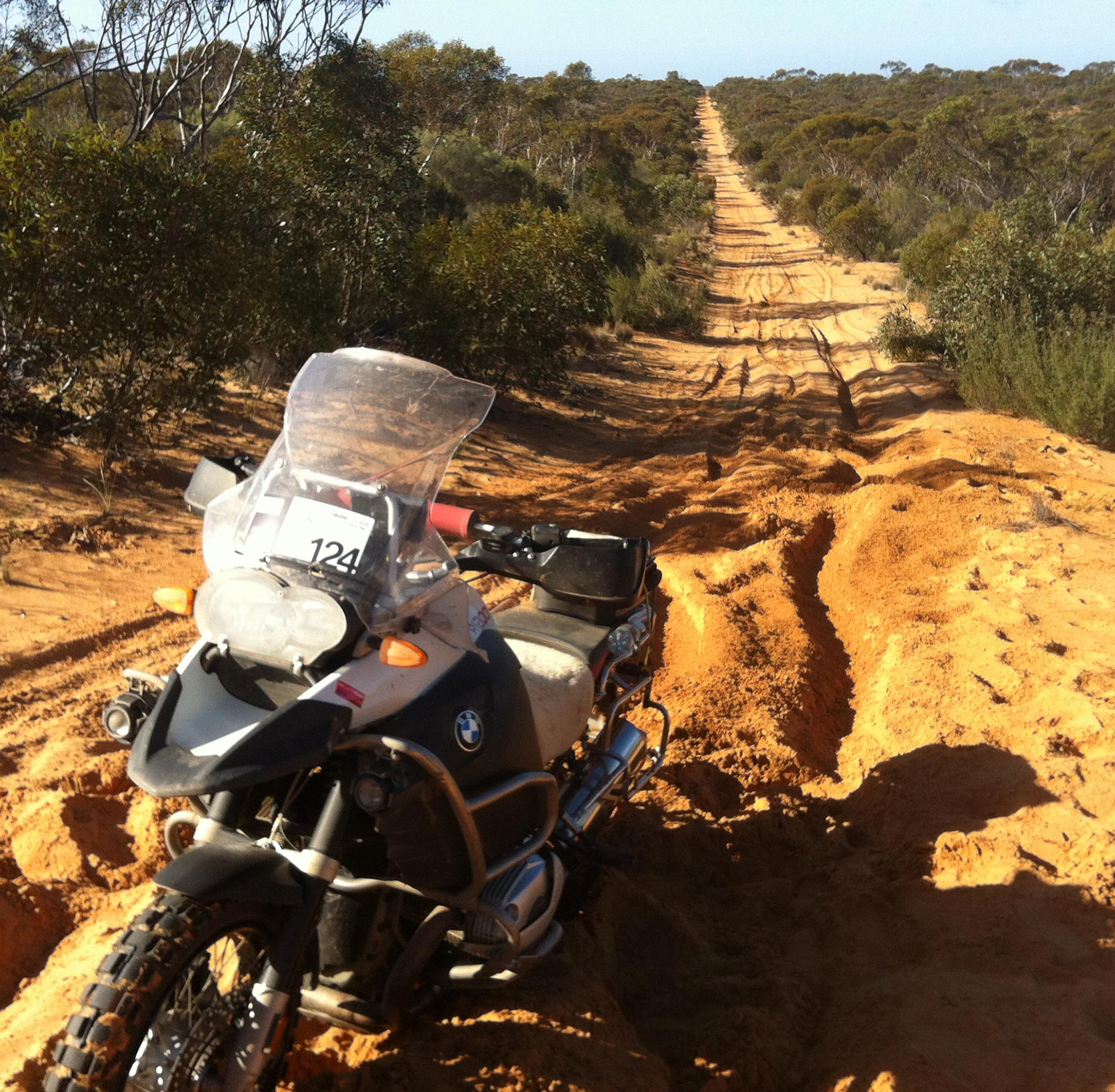 BMW GS Safari Enduro 2015 - Up for this on a big GS?