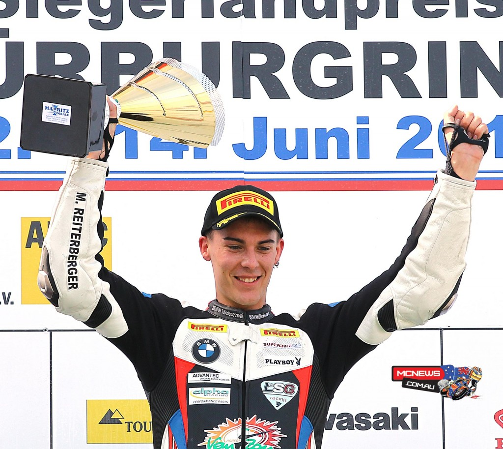 Markus Reiterberger - 2015 IDM Superbike Champion joins Althea BMW WorldSBK team for season 2016 alongside Jordi Torres