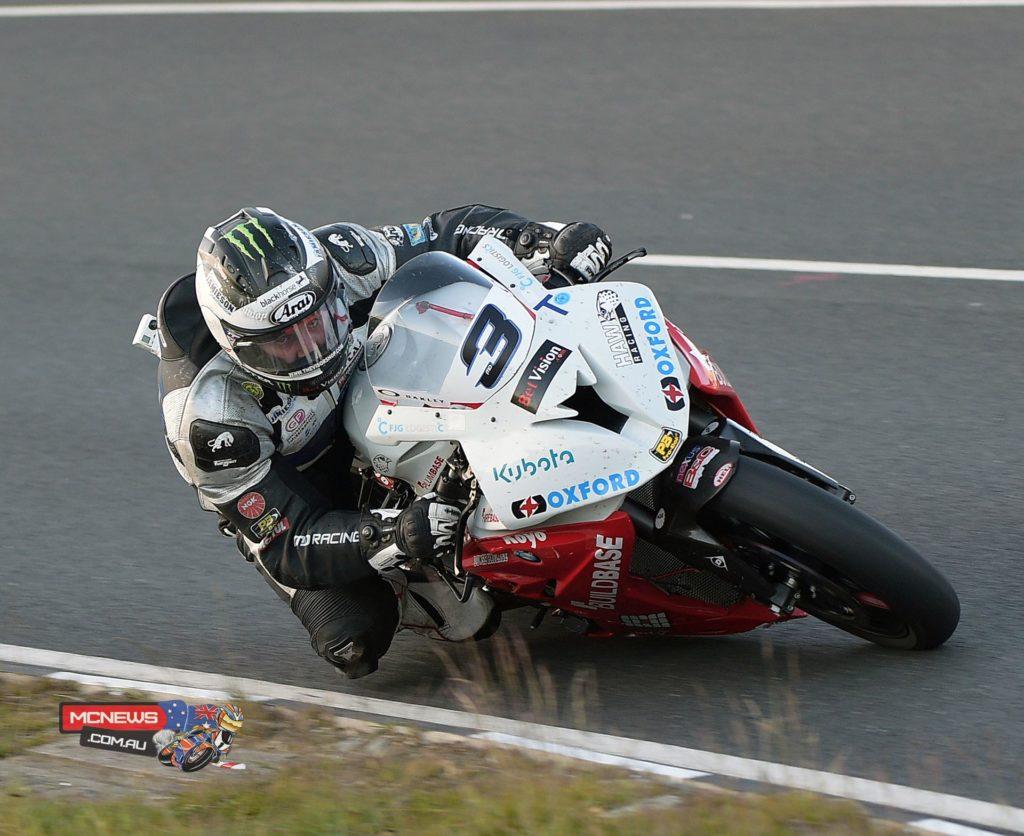 Isle of Man TT 2015 - Friday Qualifying - Michael Dunlop
