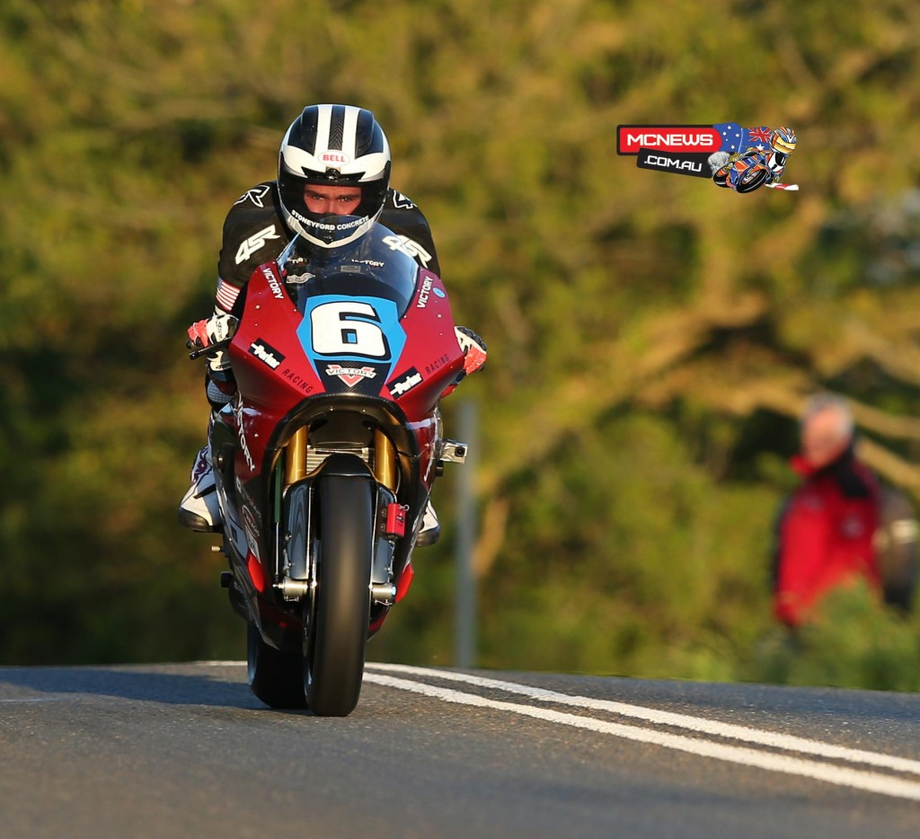 Isle of Man TT 2015 - Friday Qualifying - William Dunlop Victory TT Zero
