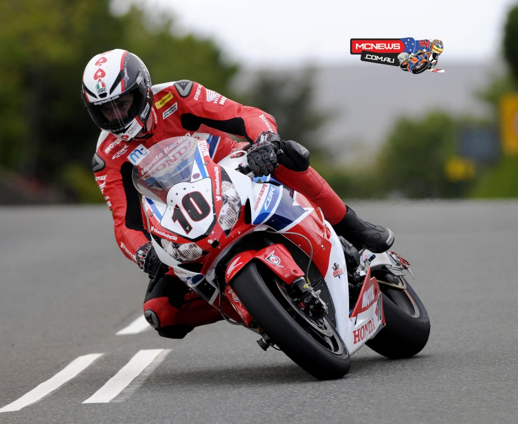 Isle of Man TT 2015 - Practice - Conor Cummins