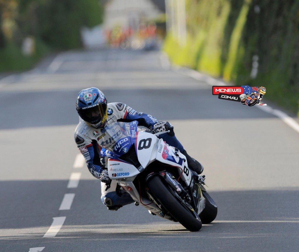 Isle of Man TT 2015 - Practice - Guy Martin