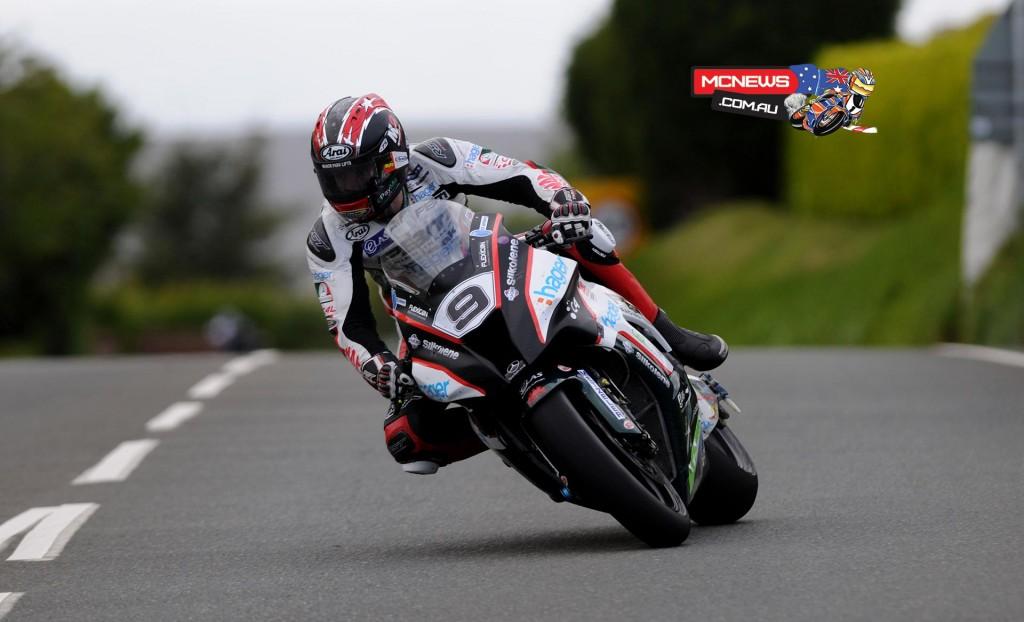 Isle of Man TT 2015 - Practice - Ian Hutchinson