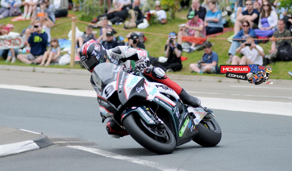 Ian Hutchinson tasted much success at the 2015 TT but in the premier Senior TT Hutchy had to settle for third with a blown out exhaust on the PBM Kawasaki