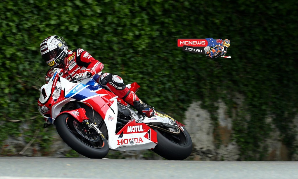 The victory is John McGuinness's 23rd TT win and his seventh in the Senior TT.