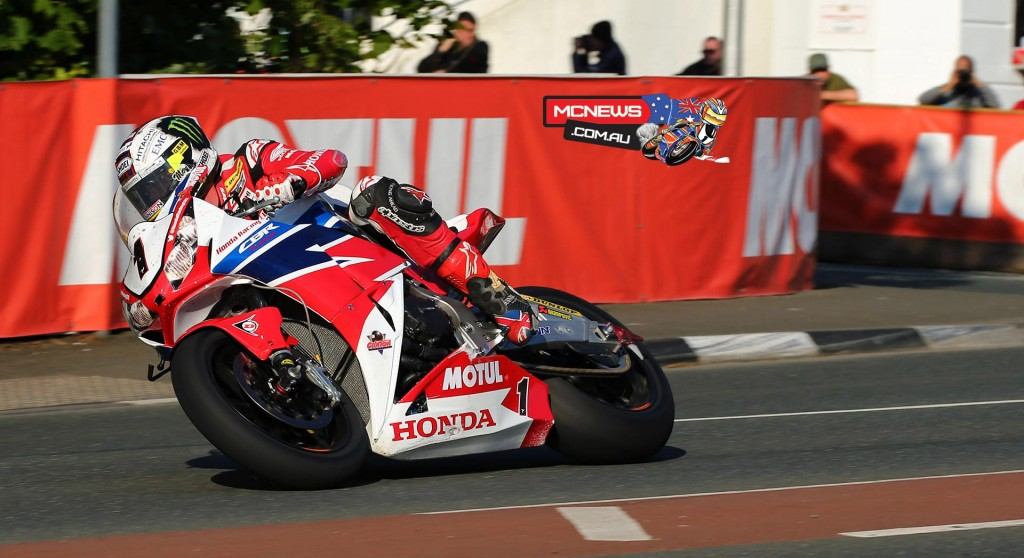 During the epic race, the 'Morecambe Missile' broke the outright Senior TT lap record with a 132.701mph lap and was just a fraction off a sub 17-minute lap