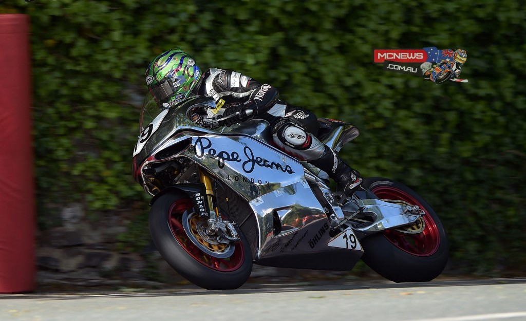 IOM TT RST Superbike Race - Cam Donald finished 18th on the new SG4 Norton