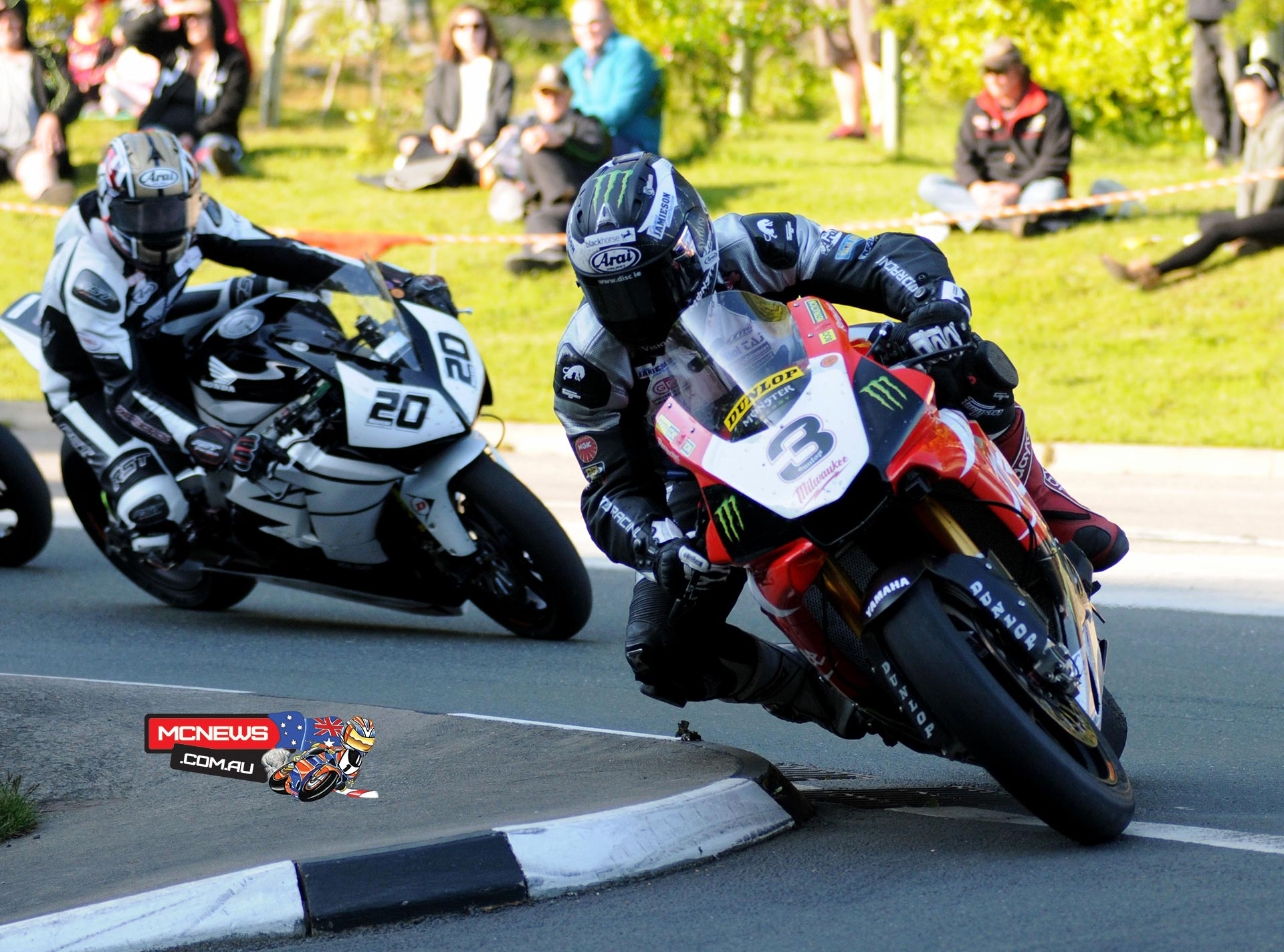 Isle of Man TT 2015 - Practice - Michael Dunlop - Yamaha