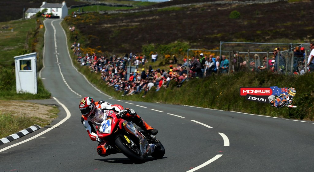 Peter Hickman put in a superb closing lap of 126mph on the Trooper MV Agusta to claim an excellent 11th place.