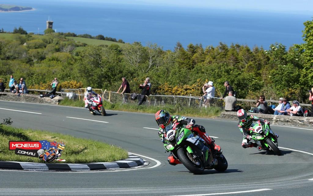 WorldSBK riders experience the IOM TT