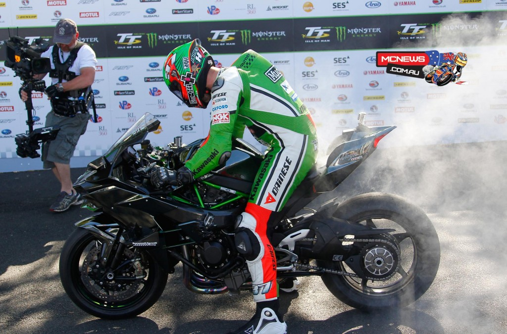 Kawasaki H2R - IOM TT 2015 - James Hillier