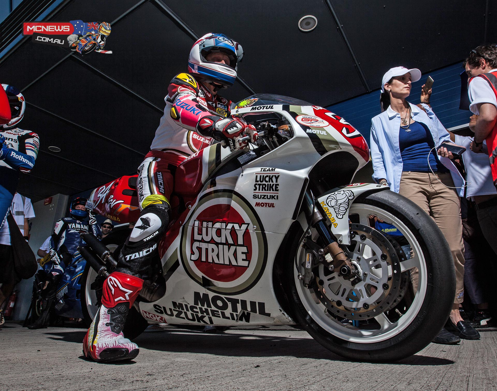 World GP Bike Legends 2015 - Kevin Schwantz