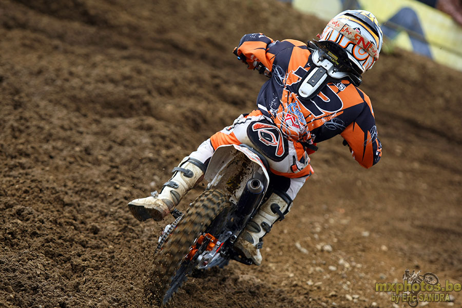 Liam Everts will be at the 2015 World Junior Motocross Championship in Spain during July