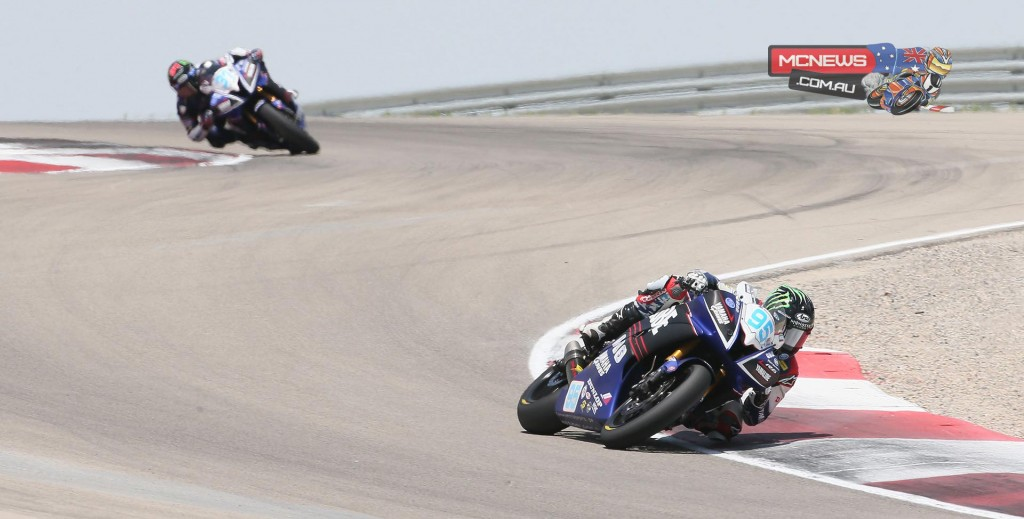 JD Beach was the runaway winner of the Supersport final on Saturday at Miller.
