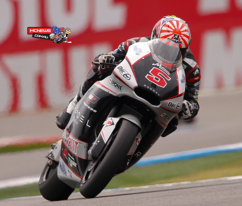 Johann Zarco took his third pole position of the season after annihilating the Moto2 lap record at the TT circuit Assen.