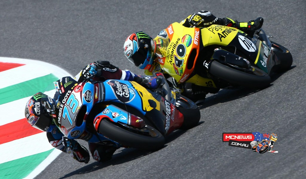 Alex Marquez still continues to struggle as the Moto3 World Champion adapts to Moto2 but brought home another couple of points in 12th place at Mugello